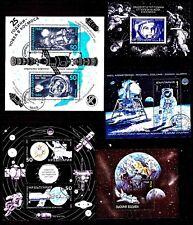 LET39 BULGARIE 5blocs :cosmonautes,satelittes,,conquete de l'espace