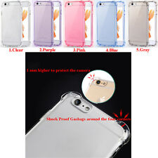 Anti-Slip Shock Proof Clear Soft TPU Case Cover Custodie For iPhone 7 6 6s Plus