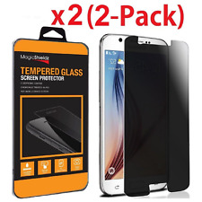 2-Pack Tempered Glass Privacy Anti Spy Screen Protector For Samsung Galaxy S6