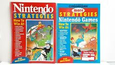 NINTENDO STRATEGIES!! How To Win At: Castlevania Contra Mega Man Zelda POWER!