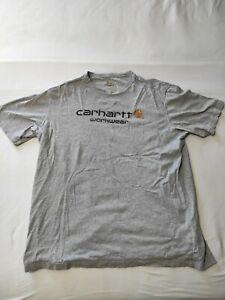 "‼️ CARHARTT Workwear ""EMEA M CORE"" T-Shirt, Gr.XXL, Grau‼️"
