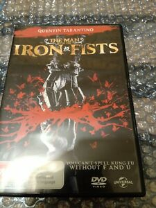 The Man With Iron Fists DVD