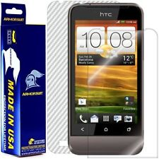 ArmorSuit MilitaryShield HTC One V Screen Protector + White Carbon Fiber Film