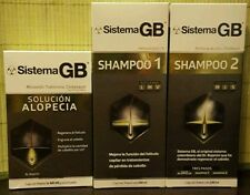New Sistema GB hair regrowth  treatment, unisex!! The best!! 3 months supply.