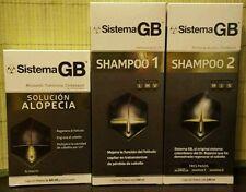 New Sistema GB hair regrowth treatment. Shampoo 1 & 2 , and alopecia.