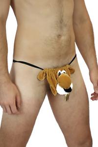NEW Mens Tiger King  Novelty Chipmunk  Fun Hustler Fundies Cosplay Costume Brief
