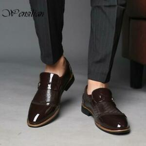 Leather Classic Fashion Luxury Men Shoes Business Formal Oxford Dress Shoes