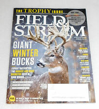 Field Stream Magazine December 2015 Trophy Issue Holiday Gift Ideas Hunting