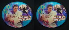 2x Star Wars Episode 1 Birthday Party Plates - 2 Packs Dessert Size 16 Total
