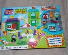 Mega Bloks 97 Pcs Set Moshi Monsters OOH LA LANE #80631 Sealed New