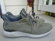 Mens Adidas Alpha Bounce green sneakers sz 15