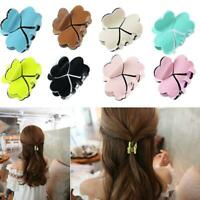 Acrylic Women Elegant Mini Hairpins Simple Colorful Clamp Hair Claw Clip
