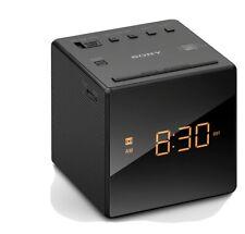 Sony ICF-C1 AM/FM Alarm Clock Radio Black *GRADE A*