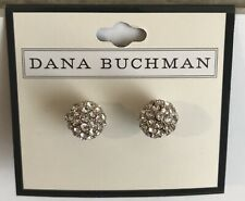 Earrings Silver Nwt $18 Dana Buchman Pierced Post