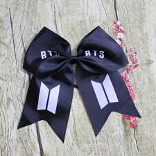 Kpop BTS Bangtan Boys Hair Bow Barrette Bowknot Decor Barrette Hair Accessories