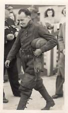 More details for speedway rider bill pitcher original photo on card 1930/40's ( not a postcard )