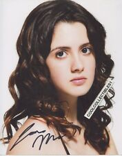 """LAURA MARANO OF """"AUSTIN & ALLY"""" IN PERSON SIGNED 8X10 COLOR PHOTO"""