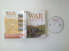 War and &  Peace MICROIDS PC FR