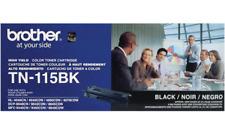 BROTHER TN-115BK BLACK TONER CARTRIDGE -  GENUINE BROTHER TN115BK
