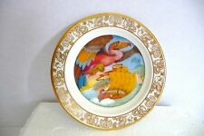 "BEST LOVED FAIRY TALES MINI PLATES FRANKLIN PORC '80 ""SINBAD THE SAILOR"""