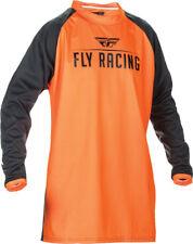 FLY RACING WINDPROOF JERSEY FLOURESCENT ORANGE/BLACK L 370-807L