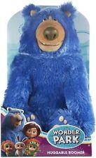 Wonder Park Huggable Boomer Blue Soft Bear WonderPark Huggable Hug Kids Toy NEW