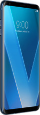 "LG V30 blau 64GB Android LTE Smartphone ohne Simlock 6"" QHD Display 13MPX Kamer"