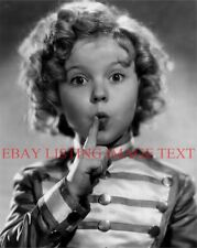 SHIRLEY TEMPLE CLASSIC 8x10 PHOTO SO CUTE THAT LOOK OF HERS