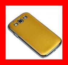 ★★★ COQUE ALUMINIUM Brossé GOLD ★★★ Pour SAMSUNG GALAXY S3  i9300 ★★