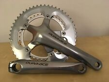 Shimano Dura Ace 7800 chainset - 175mm - 52/38T - Silver