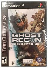 Tom Clancy's Ghost Recon: Advanced Warfighter (PS2, 2006) BRAND NEW SEALED