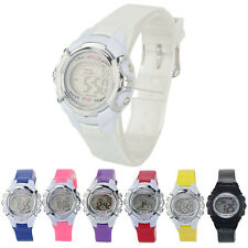 Fashion Digital LED Children Watch Sports Watch Alarm Date Quartz Wrist Watches