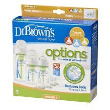 Dr Brown's opciones Kit Básico De Cuello Ancho