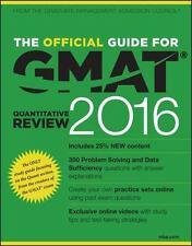 The Official Guide for GMAT Quantitative Review 2016 ... by GMAC (Graduate Manag