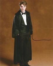 Robert Pattinson Signed Harry Potter 10x8 Photo AFTAL