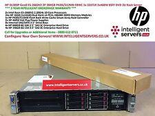 HP DL380p Gen8 2x E5-2660v2 384GB P420i/512MB FBWC 2x460W 3TB SAS Storage Server