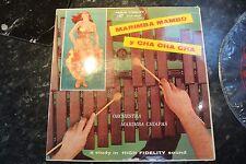 Marimba MAMBO Y CHA CHA CHA AUDIO FIDELITY aflp 1802 LP RECORD