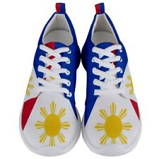 Philippines Filipino Flag Men's Lightweight Sports Running Shoes Size 6 to 11.5