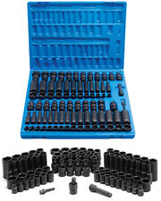 "Grey Pneumatic 1281 3/8"" Impact Sae & Metric Master Socket Set"