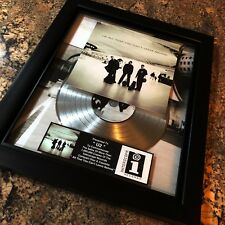 U2 Bono All You Can't Leave Behind Platinum Record Album Disc Music Award RIAA