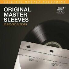 """Mobile Fidelity 12"""" Vinyl Inner Sleeves 50 Pack"""