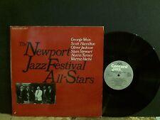 NEWPORT JAZZ FESTIVAL ALL-STARS  Various  DBL LP   GREAT !!