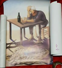 NEW Edition Banksy JERUSALEM Poster The Walled Off Hotel - STAMPED