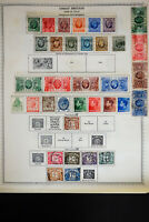 Great Britain 1920's to 1970's Stamp Collection