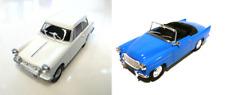 Set of 2 model cars Triumph Herald + Skoda Felicia - 1:43 DIECAST LOT CAR