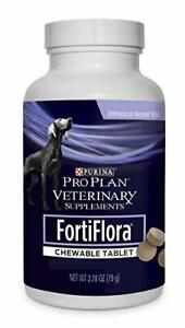 Fortiflora Purina Veterinary Supplements Chewable Tablet Nutritional Supplement