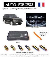 Pack FULL LED intérieur pour Range Rover 2 P38 ( Kit ampoules blanc pur )