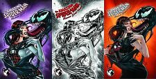 AMAZING SPIDERMAN RENEW YOUR VOWS 1 UNKNOWN COLOR SKETCH 500 VARIANT SET OF 3