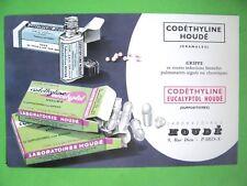 Ancien Buvard Colchine Houdé / Produit Pharmaceutique