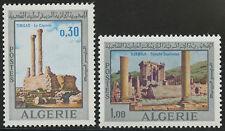 ALGERIE N°491/492**  2ème festival méditerranéen de Timgad,1969 ALGERIA MNH